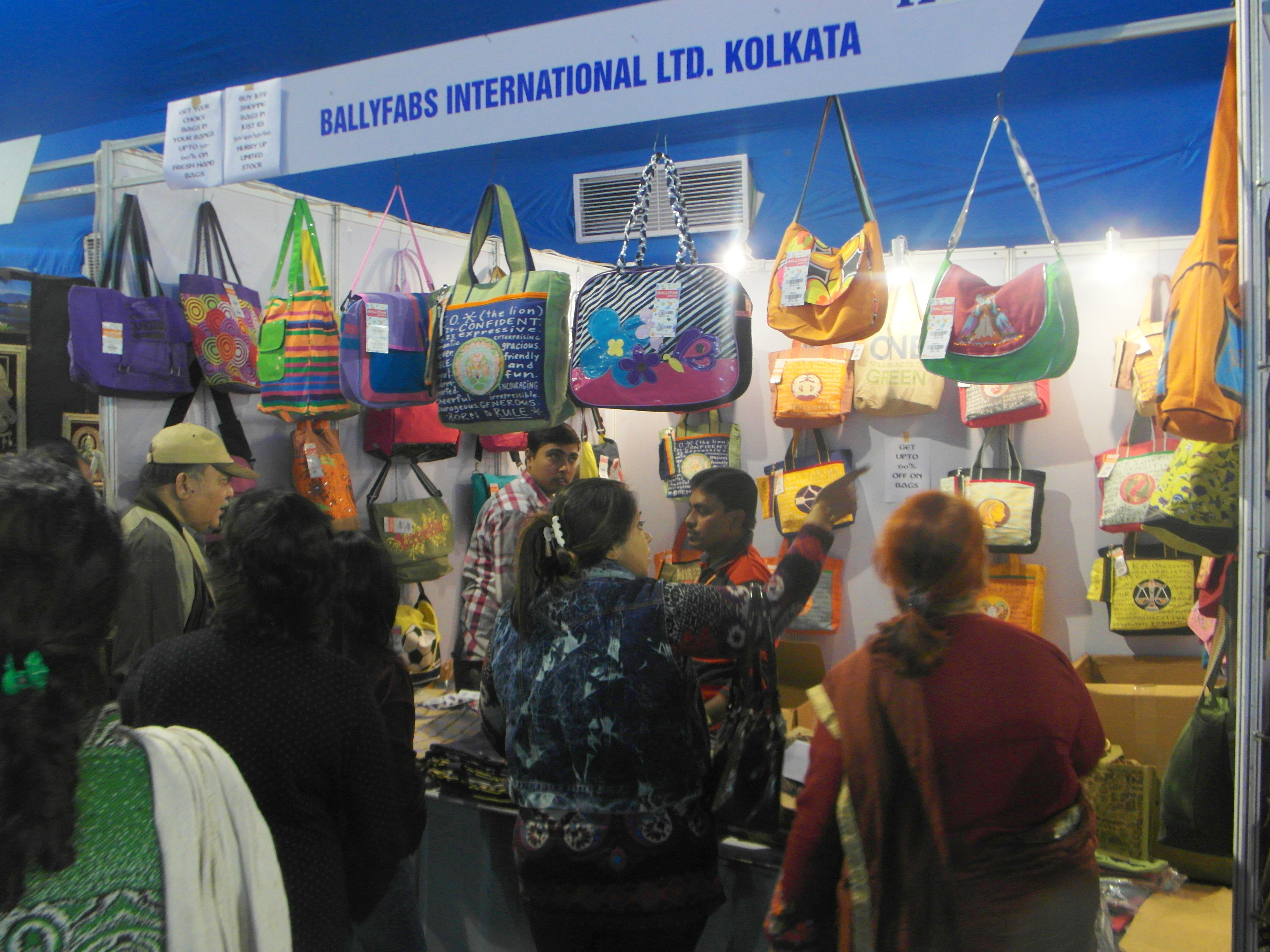 India international Mega Trade Fair 2015 at Science City, Kolkata
