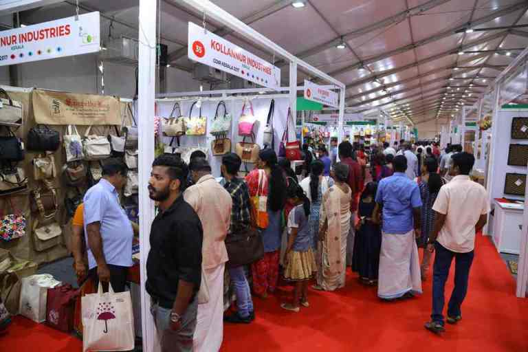 Jute Stalls at Coir Kerala, Alleppey, (5th to 9th Oct'2017)